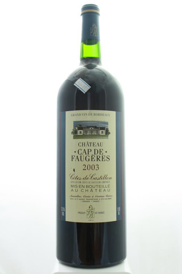 Cap de Faugères 2003