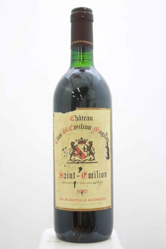 Clos Saint-Emilion Magnan 1990