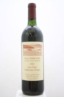 Dalla Valle Cabernet Franc Casa Dalla Valle Limited Estate Bottling 1992