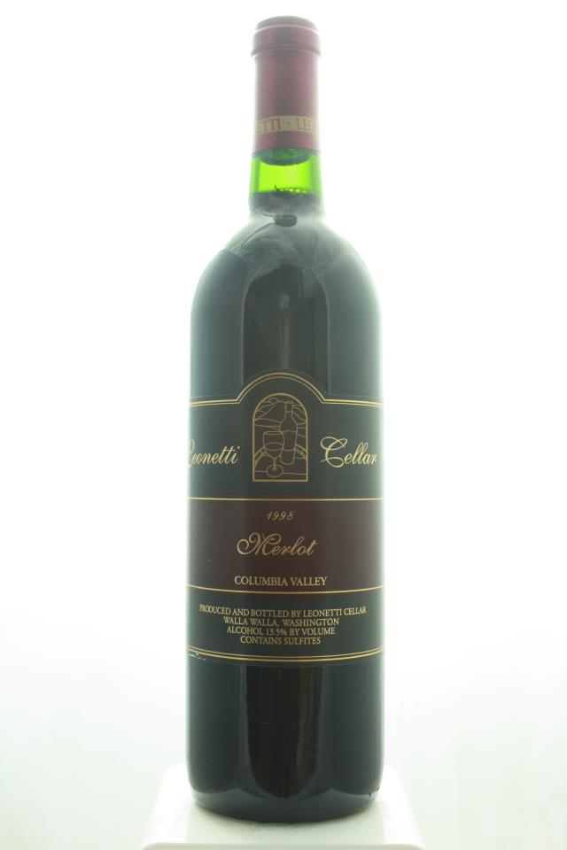 Leonetti Cellar Merlot Columbia Valley 1998