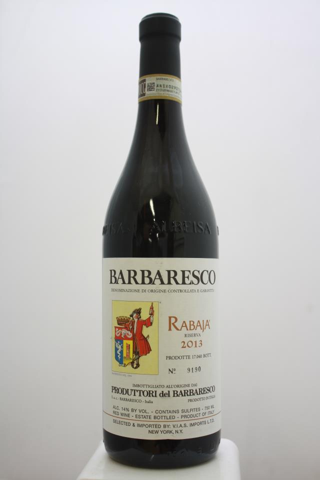 Produttori del Barbaresco Barbaresco Riserva Rabaja 2013