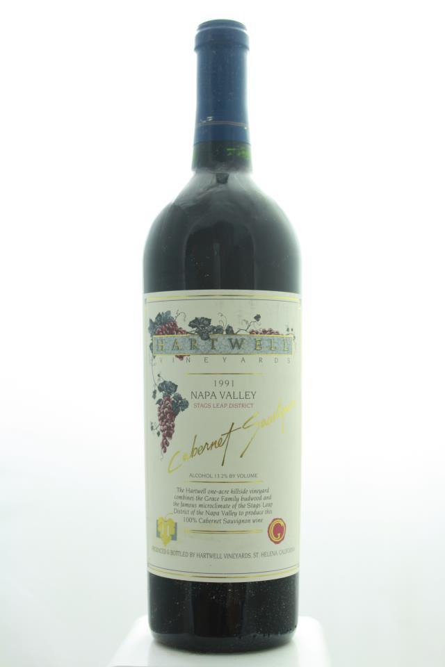 Hartwell Vineyards Cabernet Sauvignon Estate 1991