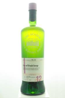 The Scotch Malt Whisky Society Single Malt Scotch Whisky Single Cask Eye of Fruit Loop 12-Years-Old 2006