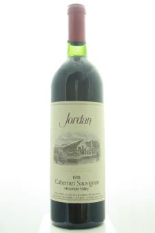 Jordan Vineyards Cabernet Sauvignon Estate 1978