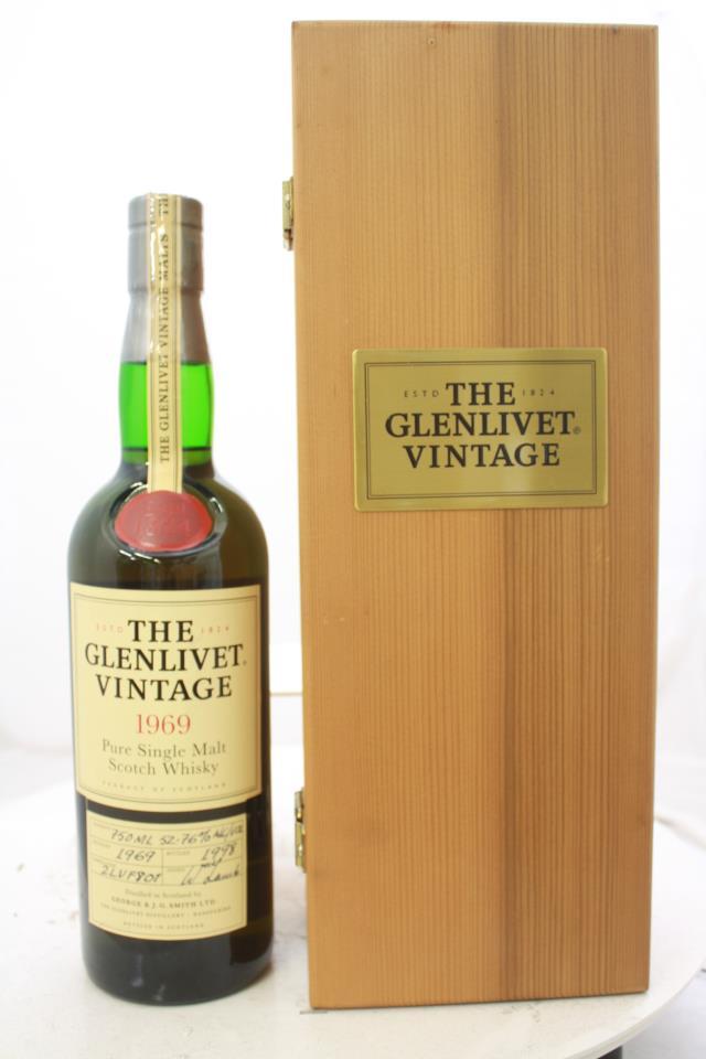 The Glenlivet Pure Single Malt Scotch Whisky 1969