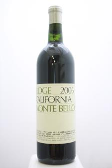 Ridge Vineyards Proprietary Red Monte Bello 2006