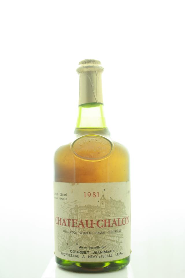 Jean-Marie Courbet Château Chalon 1981