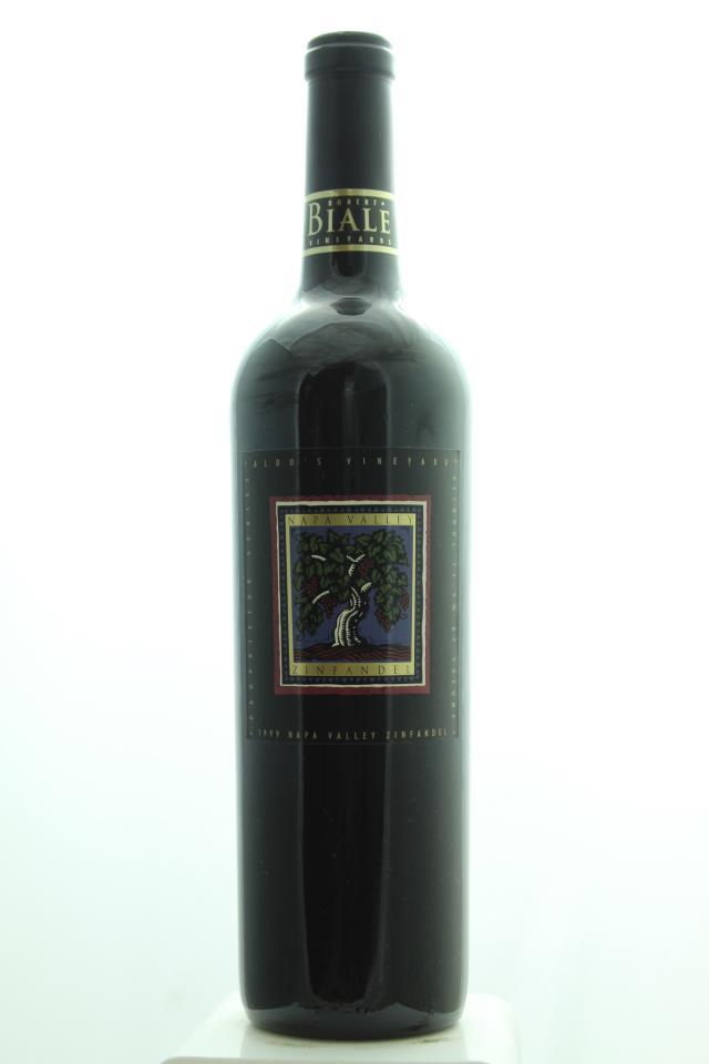 Robert Biale Zinfandel Aldo's Vineyard Proprietor Series 1999