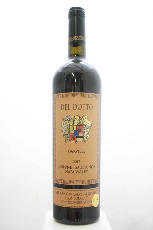 Del Dotto Cabernet Sauvignon American Oak Carved & Grooved Alain Fouquet Connoisseurs' Series SO/NO 2012