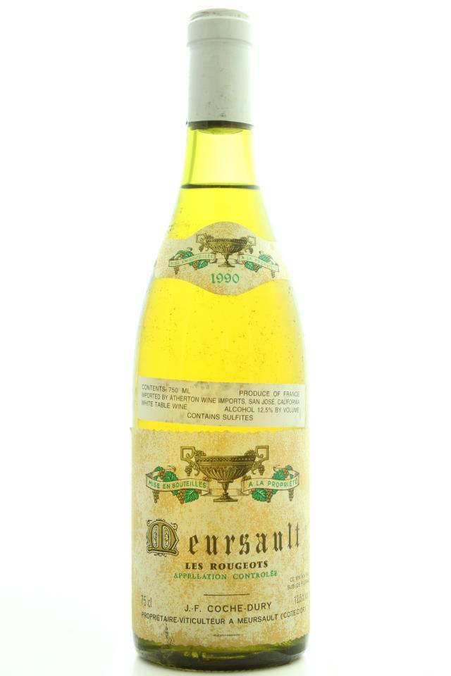 Domaine Coche-Dury Meursault Les Rougeots 1990