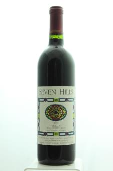 Seven Hills Winery Merlot Seven Hills Vineyard 1997