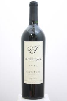 Marston Family Vineyard Proprietary Red Elizabethjohn 2010