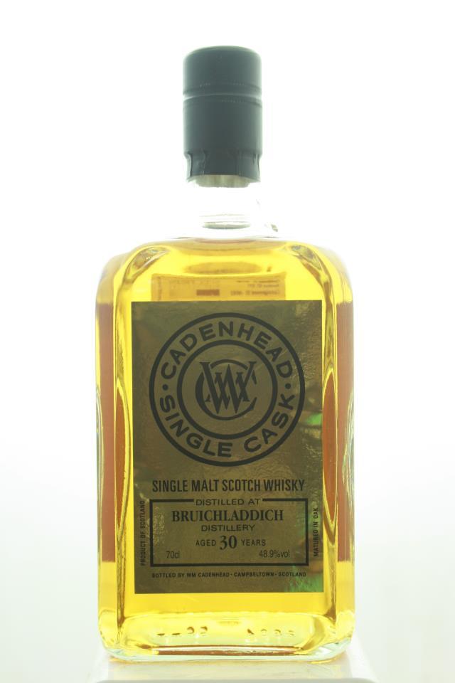 Bruichladdich Distillery Cadenhead Single Malt Scotch Whisky Single Cask 30-Years-Old 1988