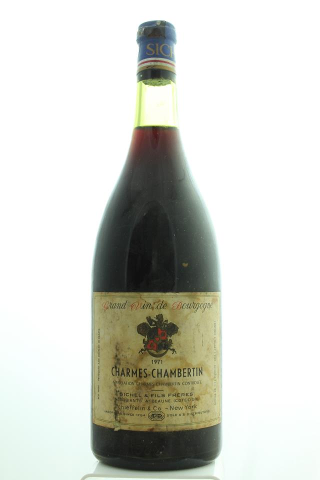 Sichel & FIls Frères Charmes-Chambertin 1971