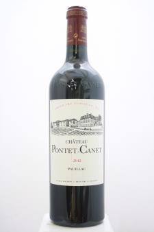 Pontet-Canet 2012