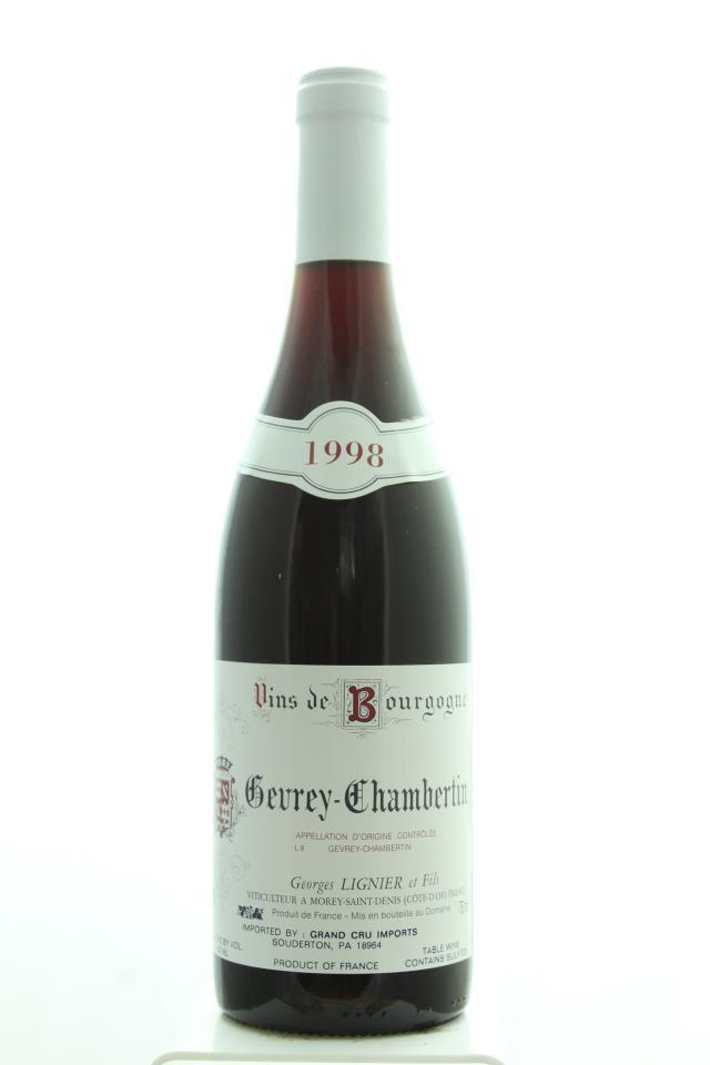 Georges Lignier Gevrey-Chambertin 1998