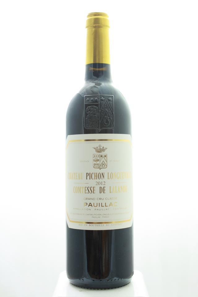 Pichon-Longueville Comtesse de Lalande 2012