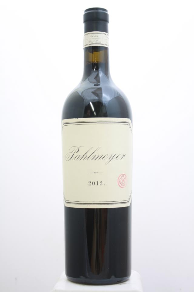 Pahlmeyer Proprietary Red 2012