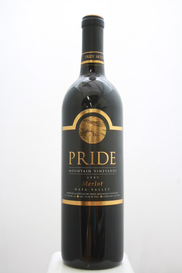 Pride Mountain Vineyards Merlot 1997
