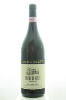 Dante Rivetti Barbaresco Bricco de Neueis Riserva 1989