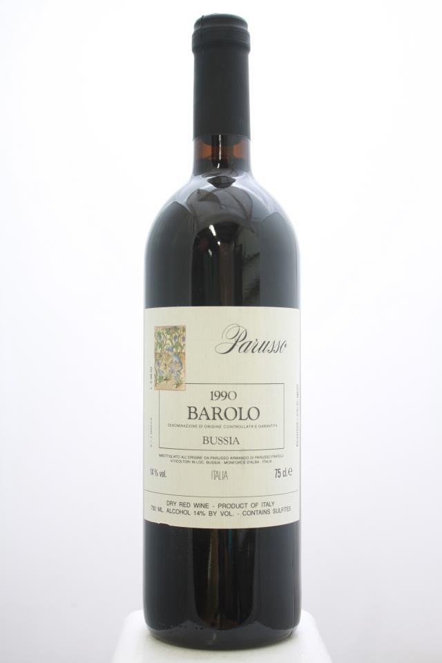 Parusso Barolo Bussia 1990