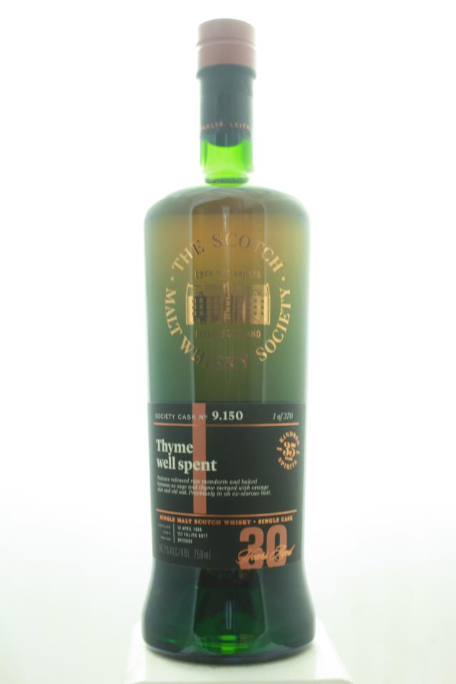 The Scotch Malt Whisky Society Single Malt Scotch Whisky Single Cask Thyme Well Spent 30-Years-Old 1988