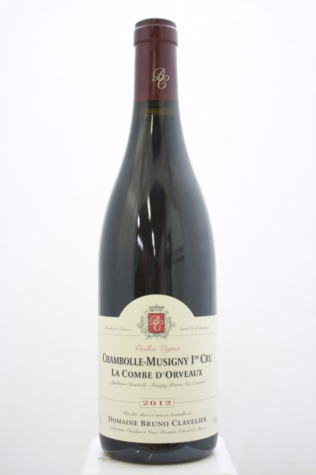 Bruno Clavelier Chambolle-Musigny La Combe d'Orveaux Vieilles Vignes 2012