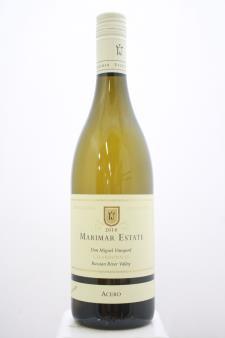 Marimar Estate Chardonnay Don Miguel Vineyard Acero 2018