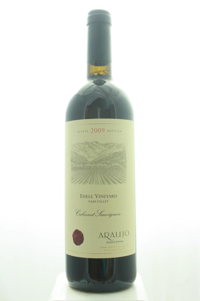 Araujo Estate Cabernet Sauvignon Eisele Vineyard 2009