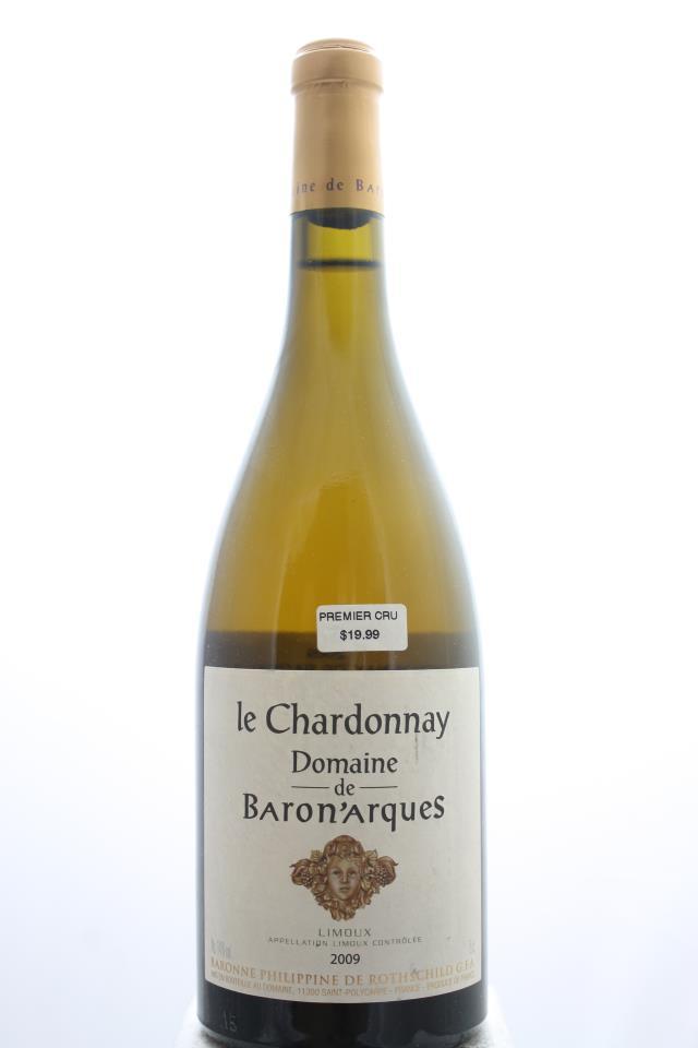 Domaine de Baron'Arques Limoux Le Chardonnay 2009