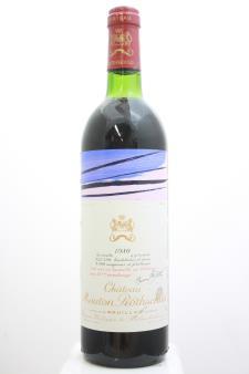 Mouton Rothschild 1980