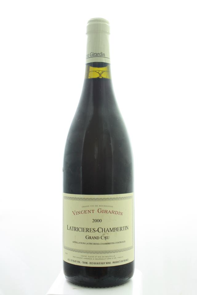 Vincent Girardin Latricieres-Chambertin 2000