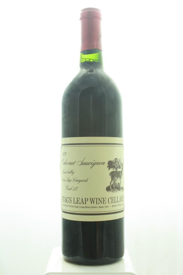 Stag's Leap Wine Cellars Cabernet Sauvignon Cask 23 1978