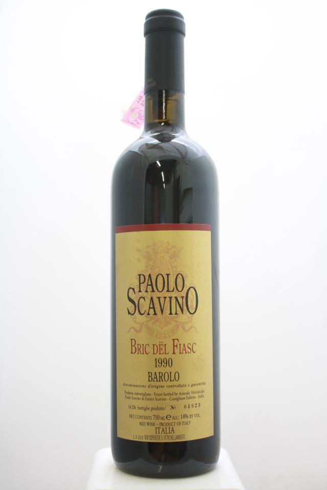 Paolo Scavino Barolo Bric dël Fiasc 1990