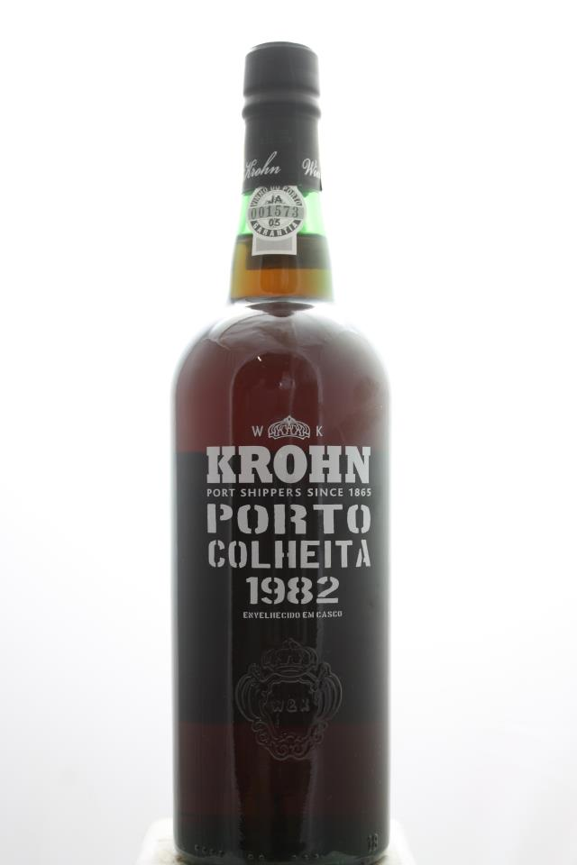 Wiese & Krohn Colheita Port 1982