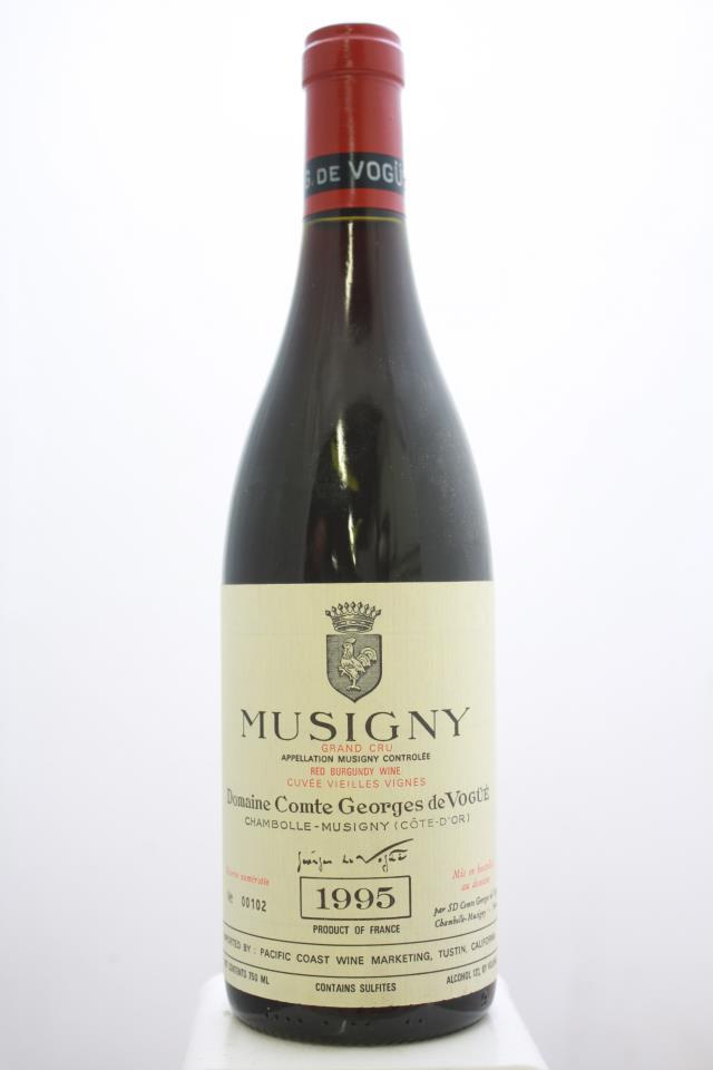 Comte Georges de Vogüé Musigny Cuvée Vieilles Vignes 1995