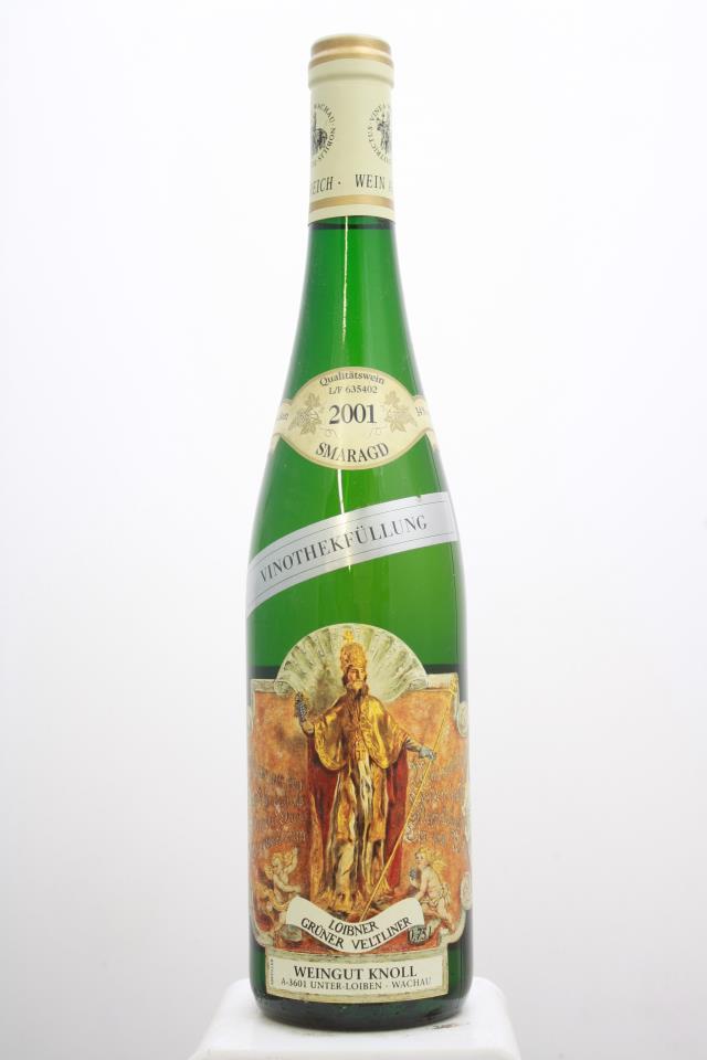 Knoll Grüner Veltliner Loibner Vinothekfullung Smaragd 2001