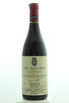 Comte Georges de Vogüé Musigny Cuvée Vieilles Vignes 2002