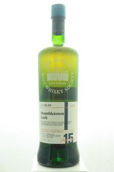The Scotch Malt Whisky Society Single Malt Scotch Whisky Single Cask Drambletown Loch 15-Years-Old 2003