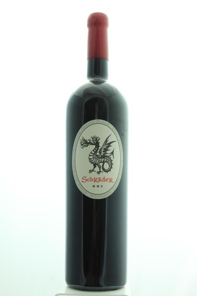 """Schrader Cabernet Sauvignon Beckstoffer To Kalon Vineyard MMX """"Old Sparky"""" 2010"""