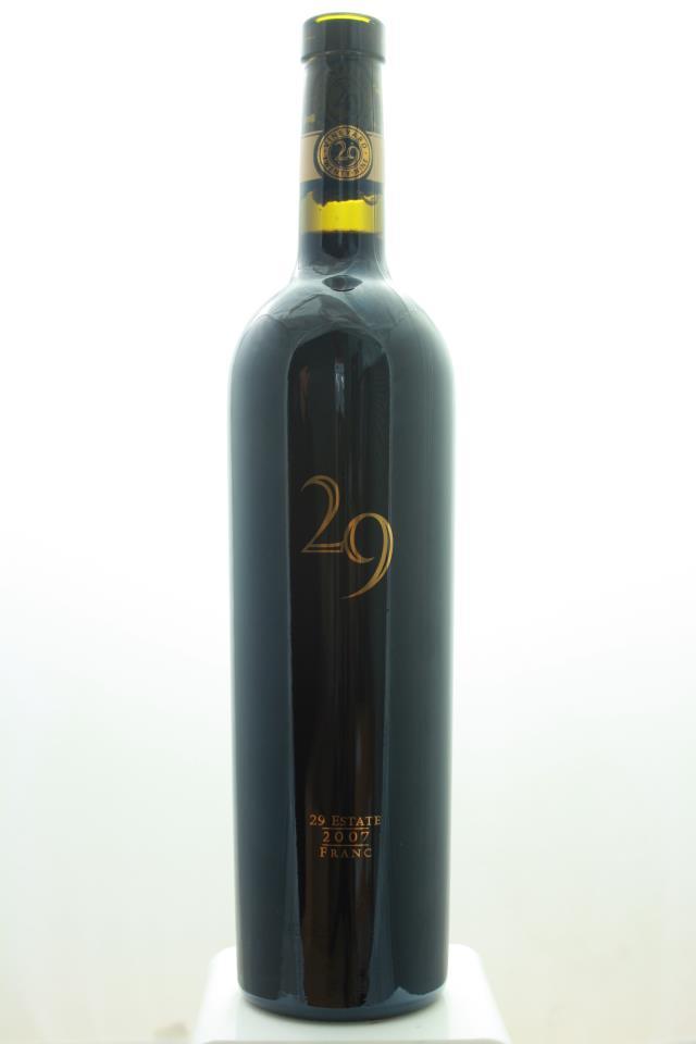 Vineyard 29 Cabernet Franc The Essentials 2007
