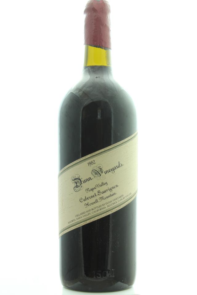 Dunn Cabernet Sauvignon Howell Mountain 1982