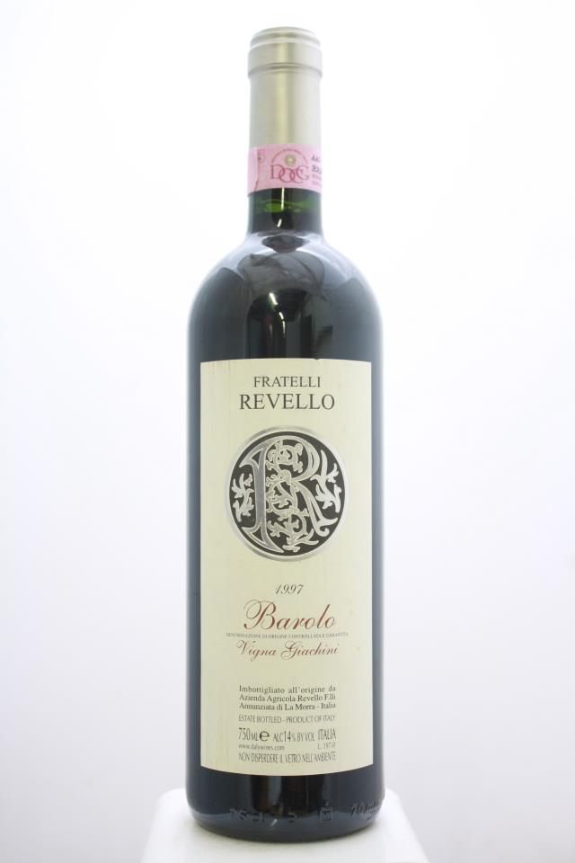 Revello Barolo Vigna Giachini 1997