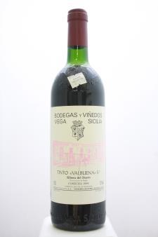 Vega Sicilia Valbuena 5 1989