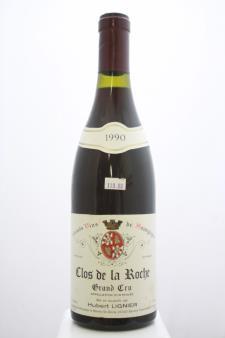 Hubert Lignier Clos de la Roche 1990