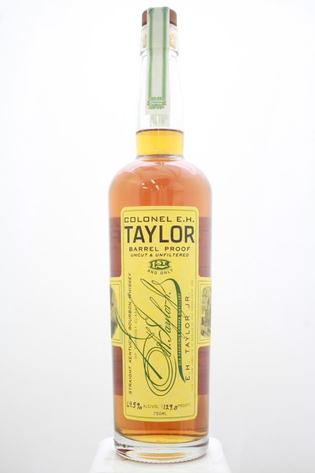 Colonel E.H. Taylor Barrel-Proof Uncut & Unfiltered Straight Kentucky Bourbon Whiskey NV