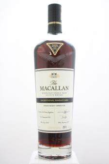 The Macallan Highland Single Malt Scotch Whisky Exceptional Single Cask 2020/ESH-13921/03 2020 Release NV