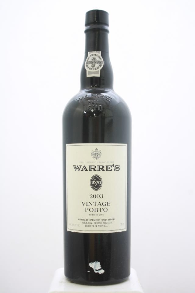 Warre's Vintage Porto 2003