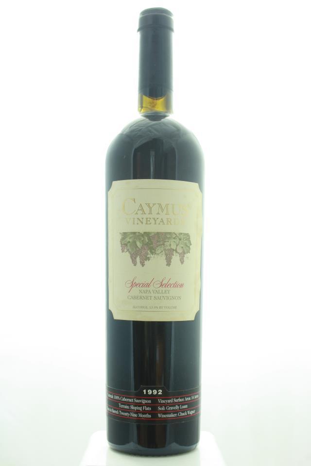 Caymus Cabernet Sauvignon Special Selection 1992