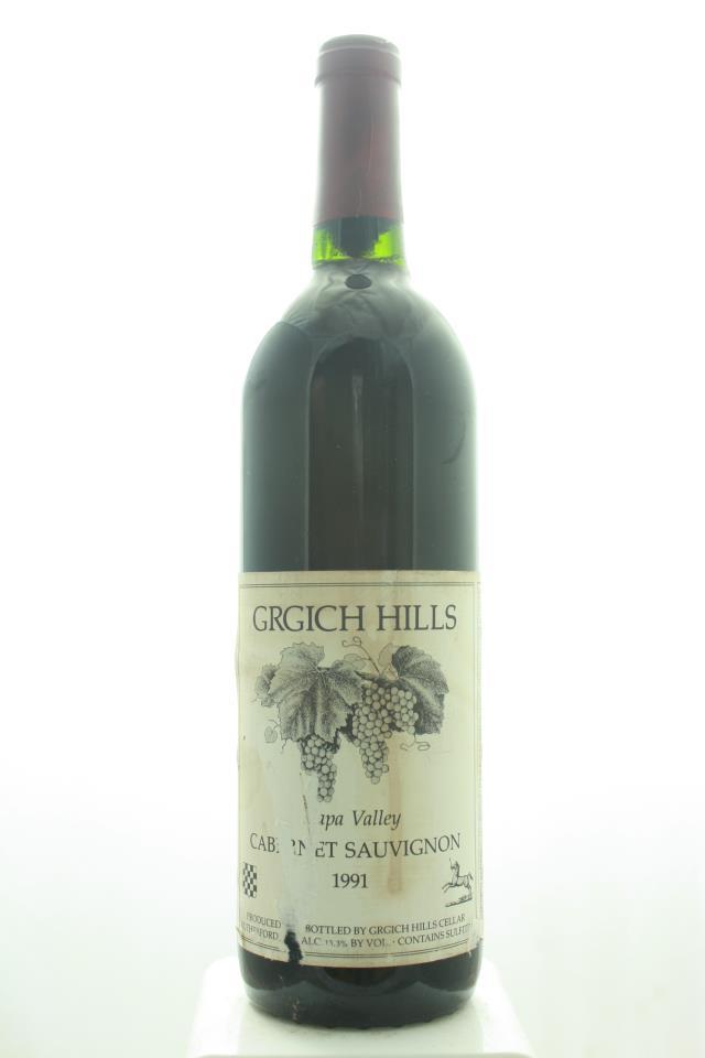Grgich Hills Cabernet Sauvignon Napa Valley 1991